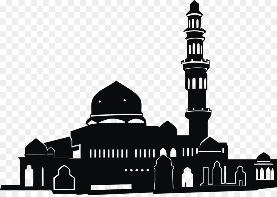 Logo Masjid clipart.