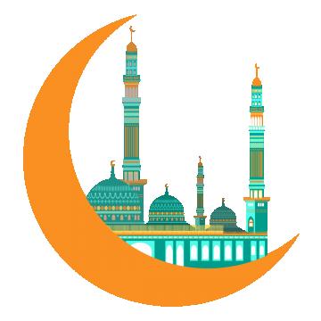 2019 的 Ramadan Moon Eid Al Adha, Moon, Religion, Faith PNG.