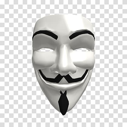 Anonymous mask transparent background PNG clipart.
