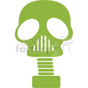 gas mask icon clipart. Royalty.
