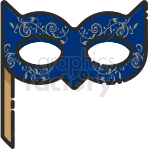 party mask icon . Royalty.