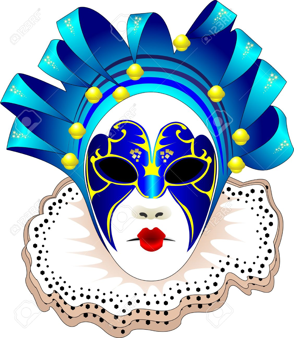 Mask of venice clipart Clipground