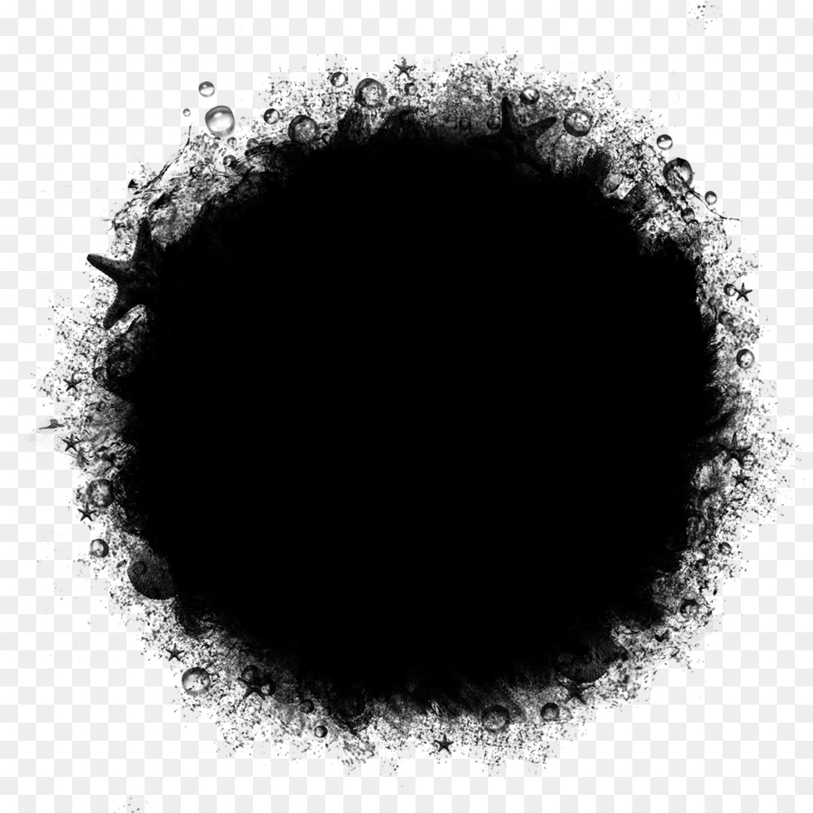 Black Circle png download.