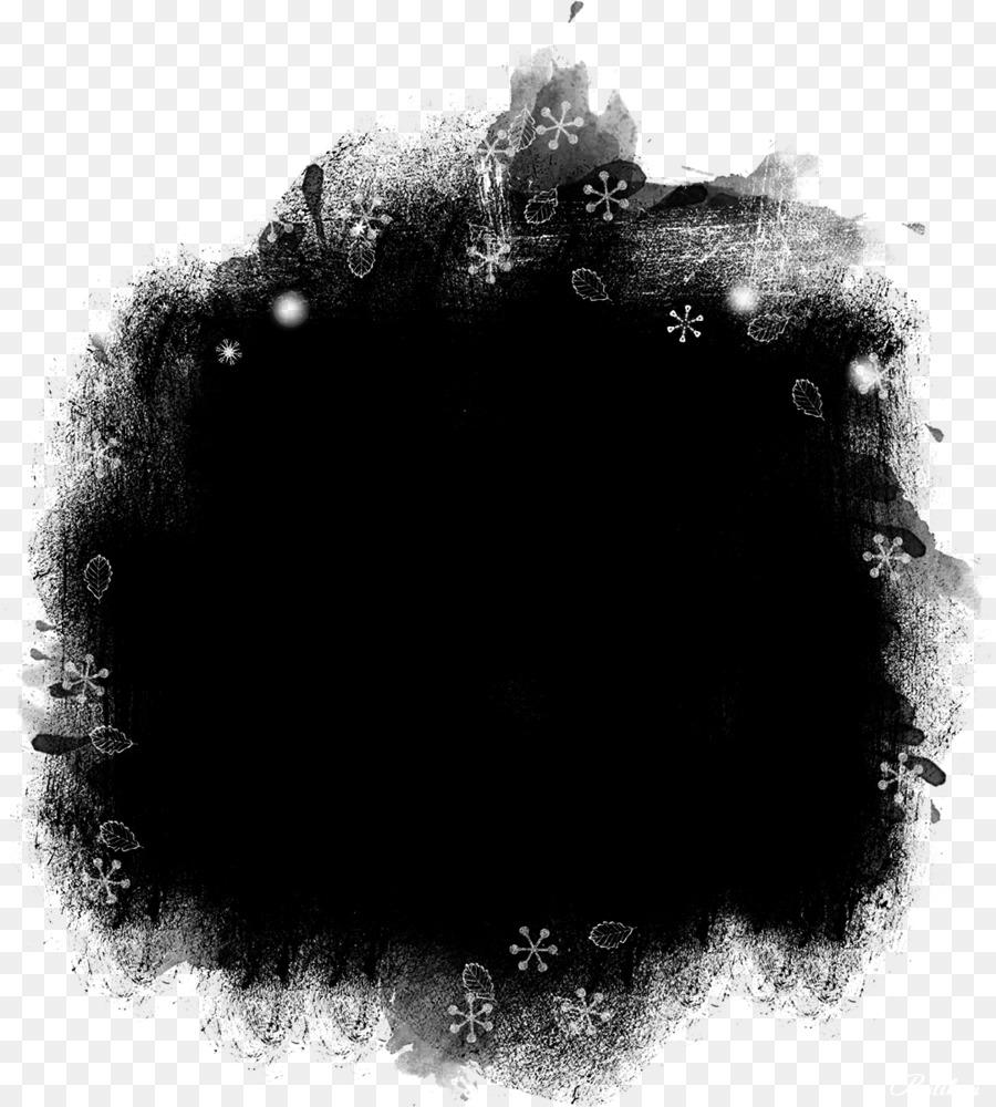 Black Circle png download.