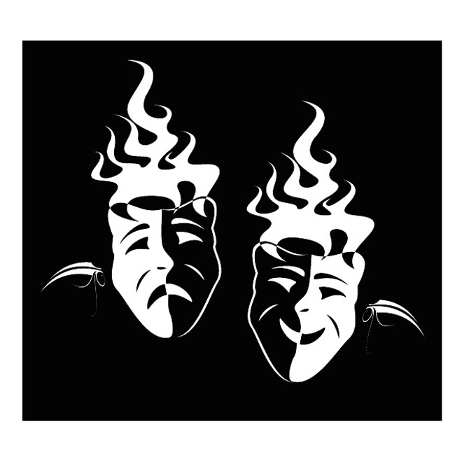 Mask vector clipart.