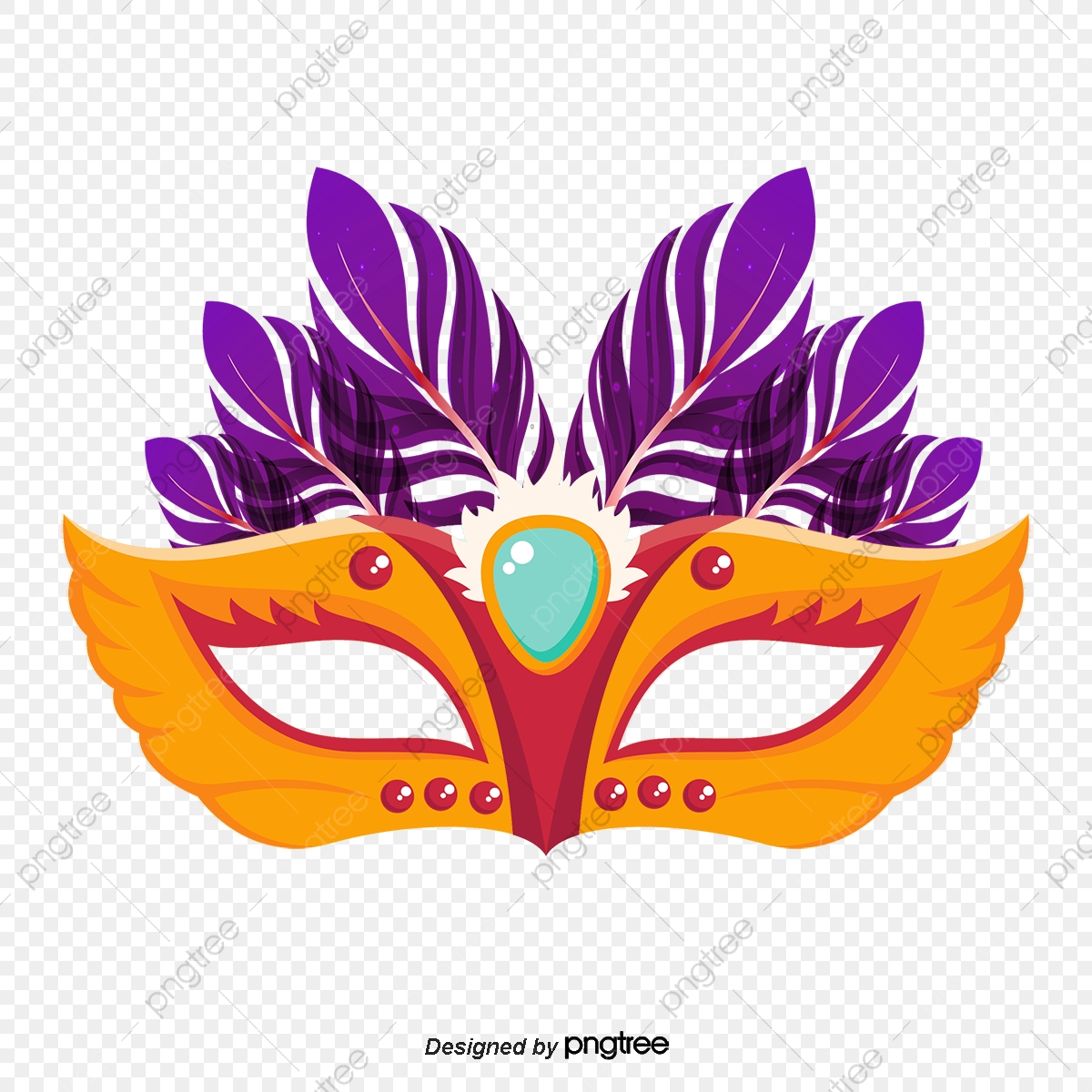 Purple Mask Vector, Feather, Glitter, Masquerade PNG and.