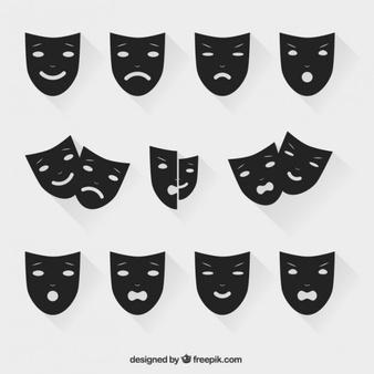 Mask Vectors, Photos and PSD files.