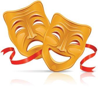 Altın maske Clipart Picture Free Download.