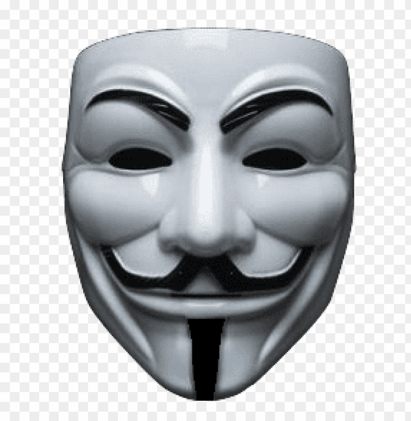 anonymous maske PNG image with transparent background.