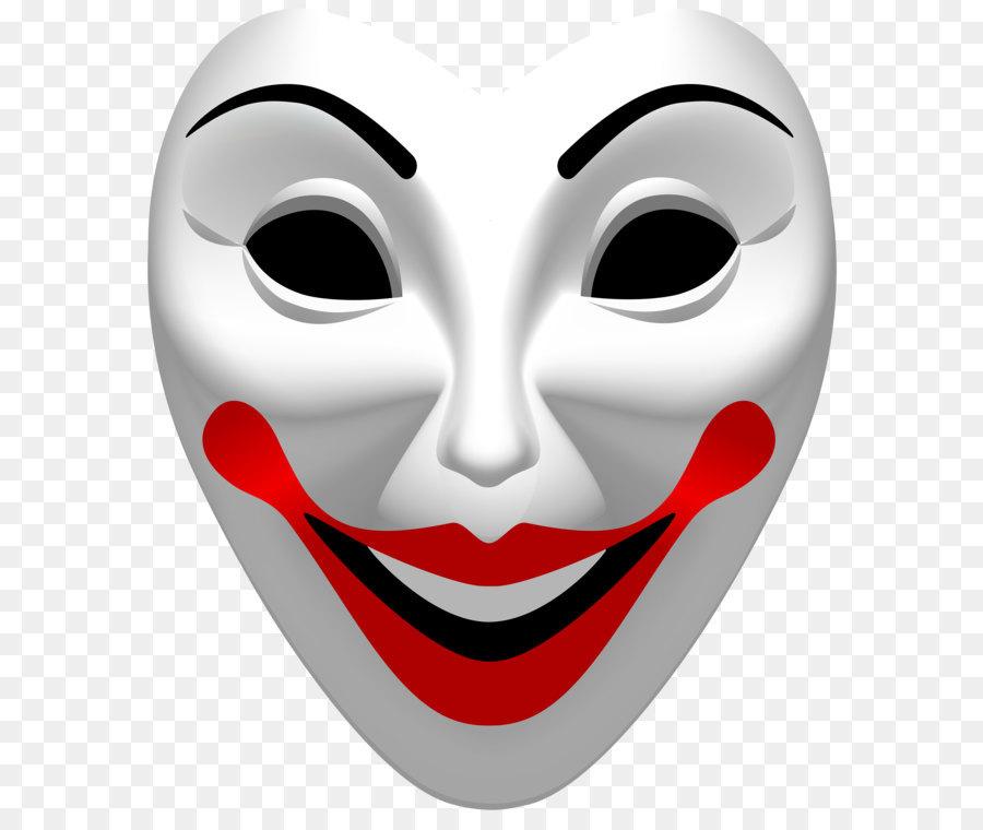 Joker Maske clipart.