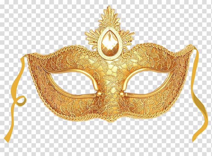 Gold masquerade mask illustration, Masquerade ball Mask Gold.
