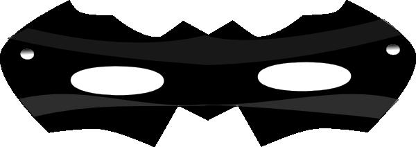 Super Hero Mask Clip Art.