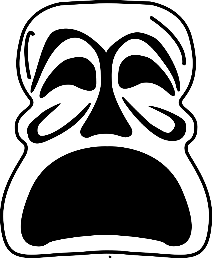 Masked Clipart.