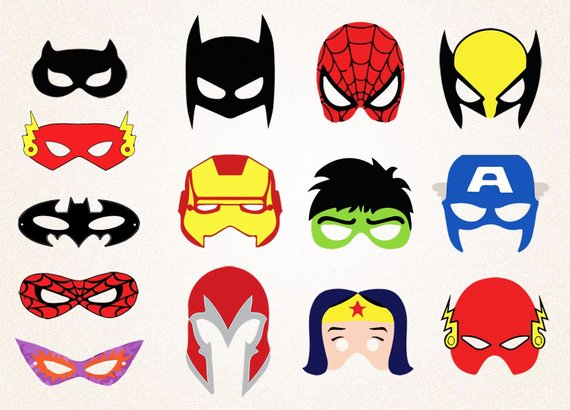 Superhero mask clipart 4 » Clipart Station.