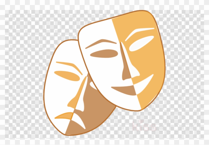 Theater Mask Png Clipart Theatre Mask Clip Art.