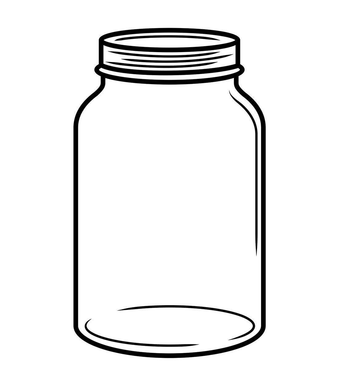 Mason Jar Clipart With Transparent Background Clip Art.