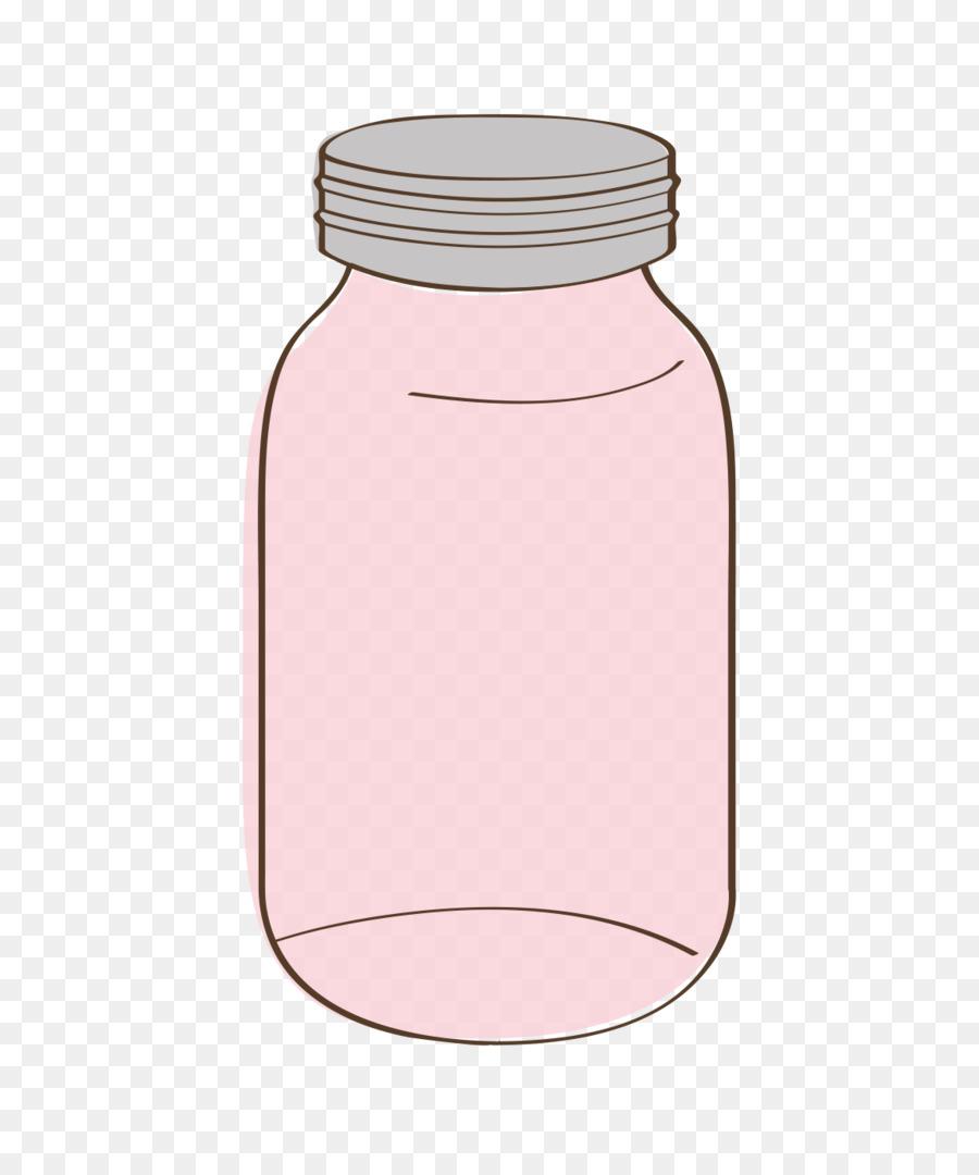 mason jar clipart Water Bottles clipart.