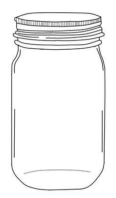 Mason Jar Clipart With Transparent Background.