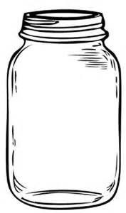 Mason Jar Clipart.