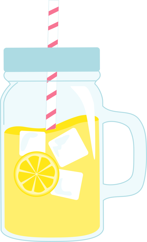 Mason Jar Glass of Lemonade Cookie Cutter.