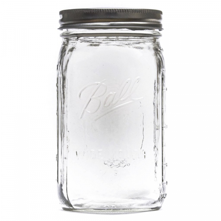 Mason Jar for The Catalyst Fermentation System • Brouwland.