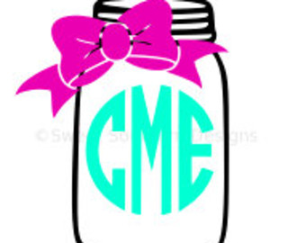 Bows clipart mason jar, Bows mason jar Transparent FREE for.