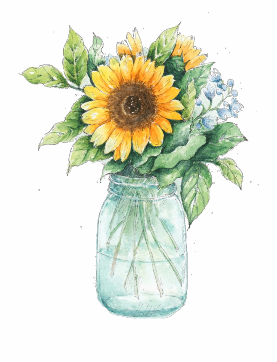 This Site Contains All About 85 Watercolor Sunflower.
