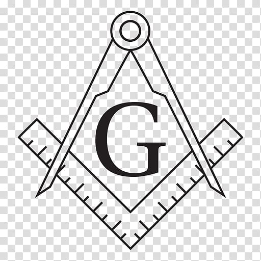Freemasonry Masonic lodge Square and Compasses Symbol.