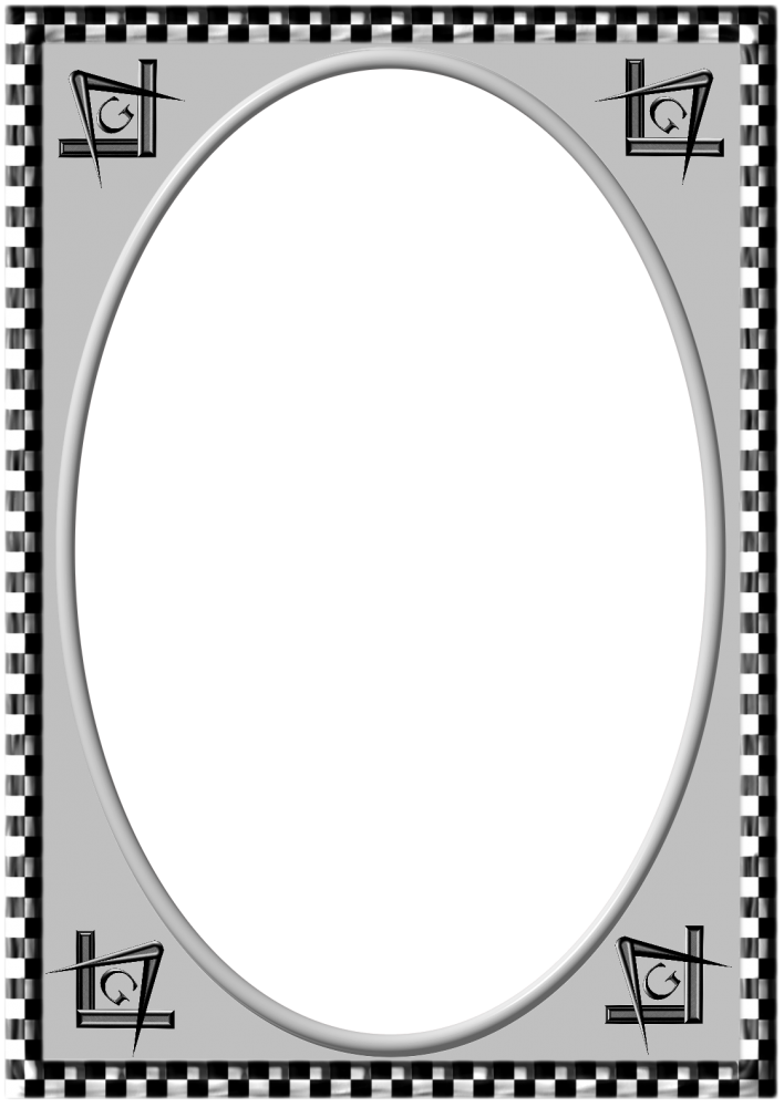 Black And White Frame clipart.