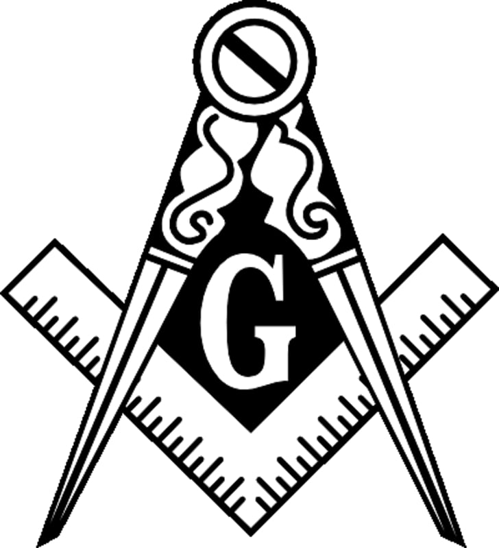What is Freemasonry? Square and Compasses Masonic lodge.