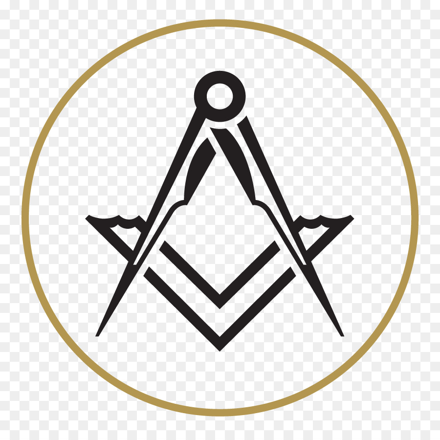 Freemasonry Line png download.
