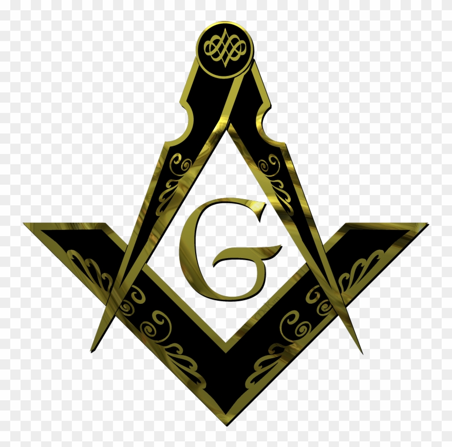 Masonic Square And Compass Png Clipart (#1346796).
