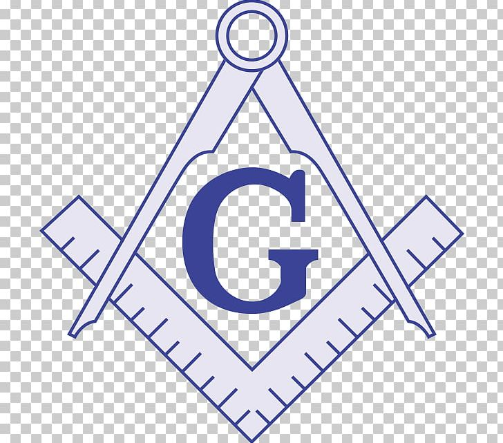 Freemasonry Square And Compasses Masonic Lodge Symbol Decal.