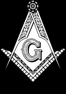 Freemasonry, Masonic F&AM Blue Lodge Logo Vector (.PDF) Free.