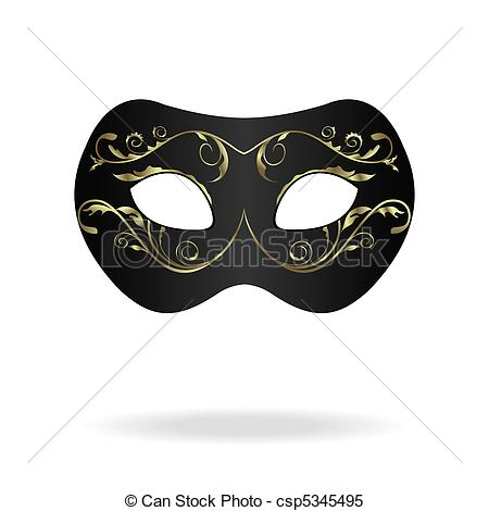 Clipart Vector of Illustration of realistic carnival or theater.