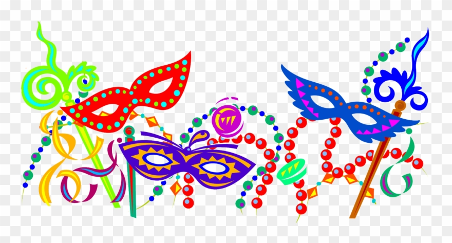 Mardi Orleans Ball Carnival Masquerade Gras In Clipart.