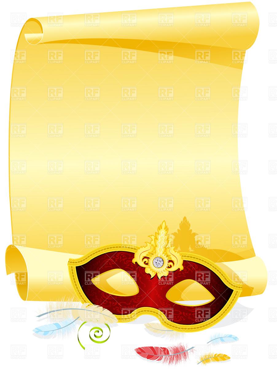 450 Masquerade free clipart.