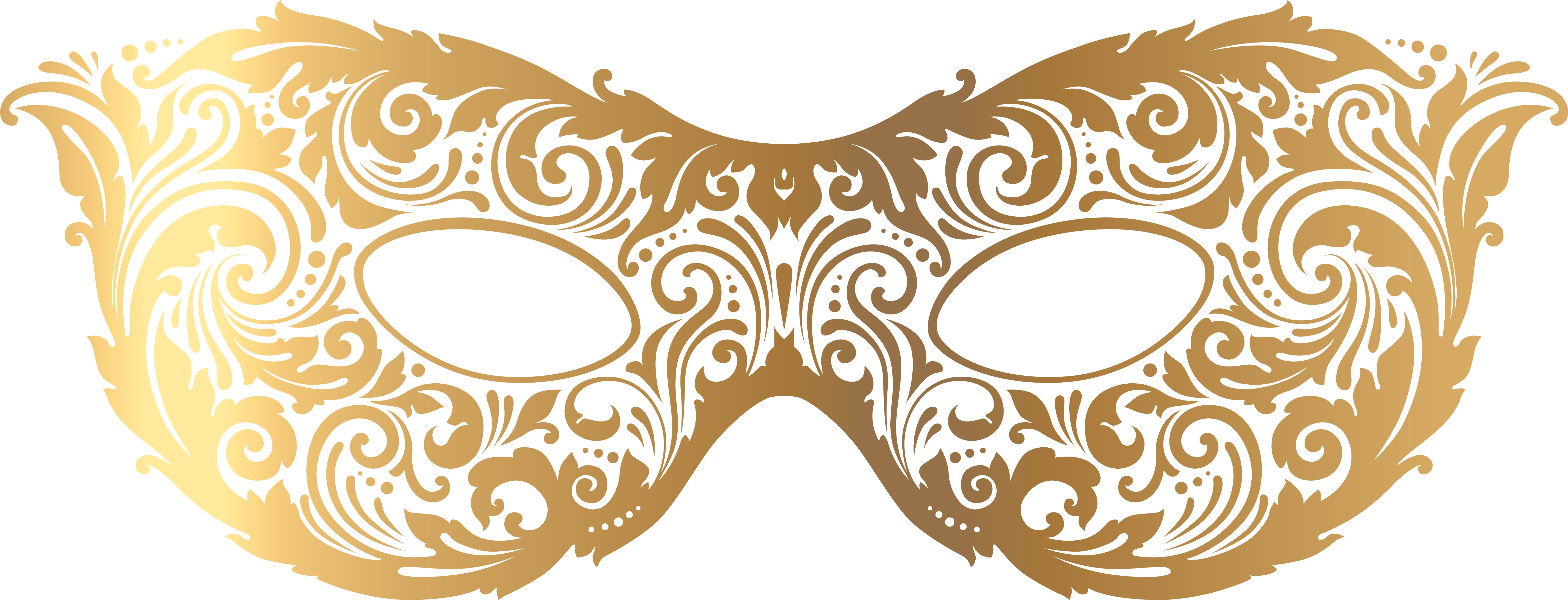 HD Gold Carnival Mask Image Png Image Clipart.
