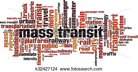 Clipart of Mass transit [Converted].eps k32427124.