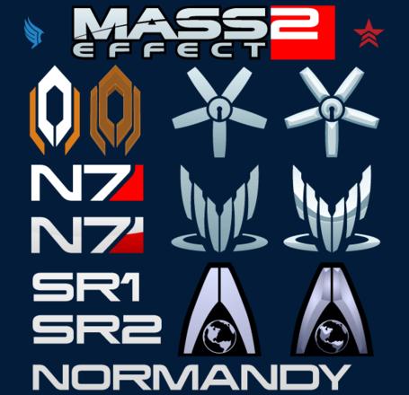 Mass Effect Logo Vector Free, Vector File.