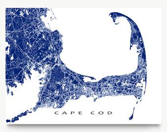 Cape cod map.