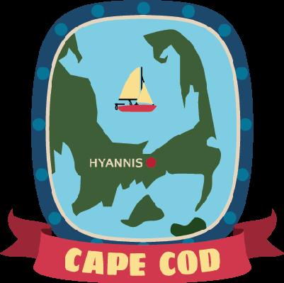 Cape Cod Clip Art.