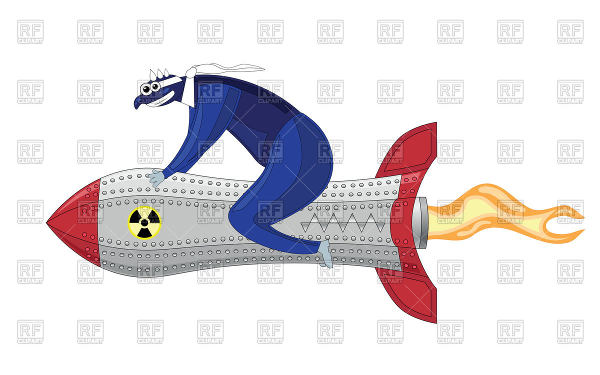 Weapon of mass destruction or suicide bomber Vector Image #87121.
