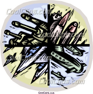 Weapon of mass destruction Clip Art.