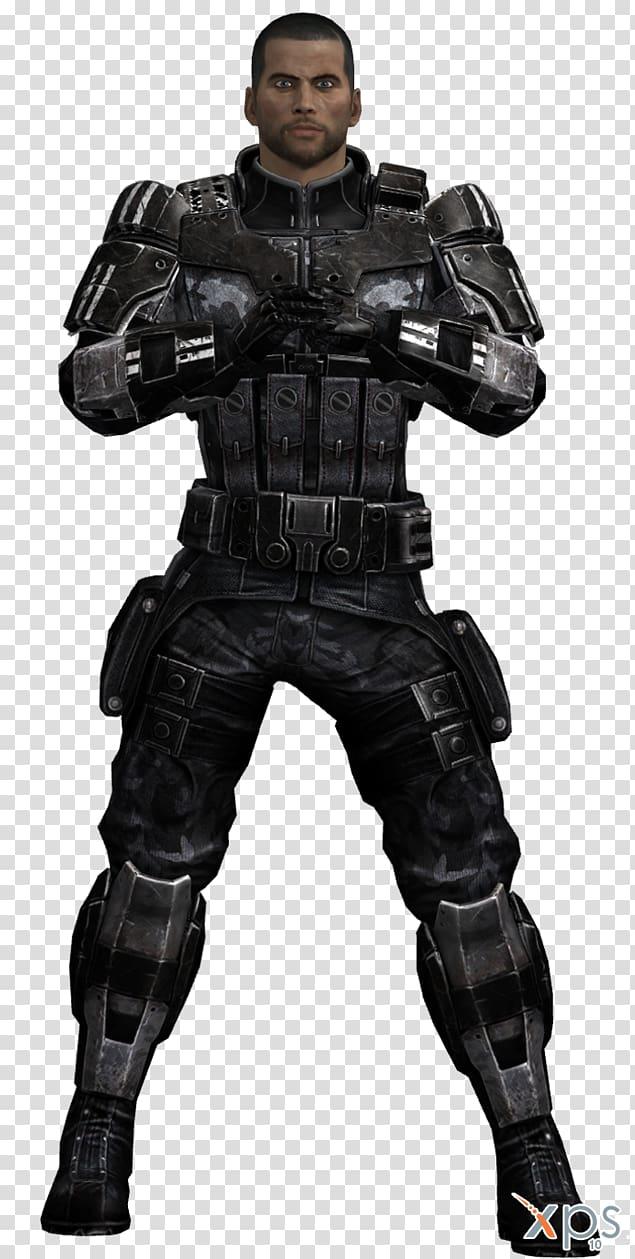Mass Effect 3 Commander Shepard Kaidan Alenko Armour Mod.