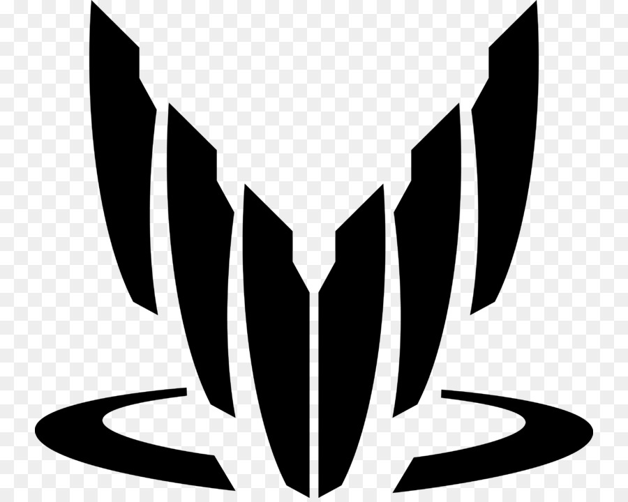 Mass Effect Black And White png download.