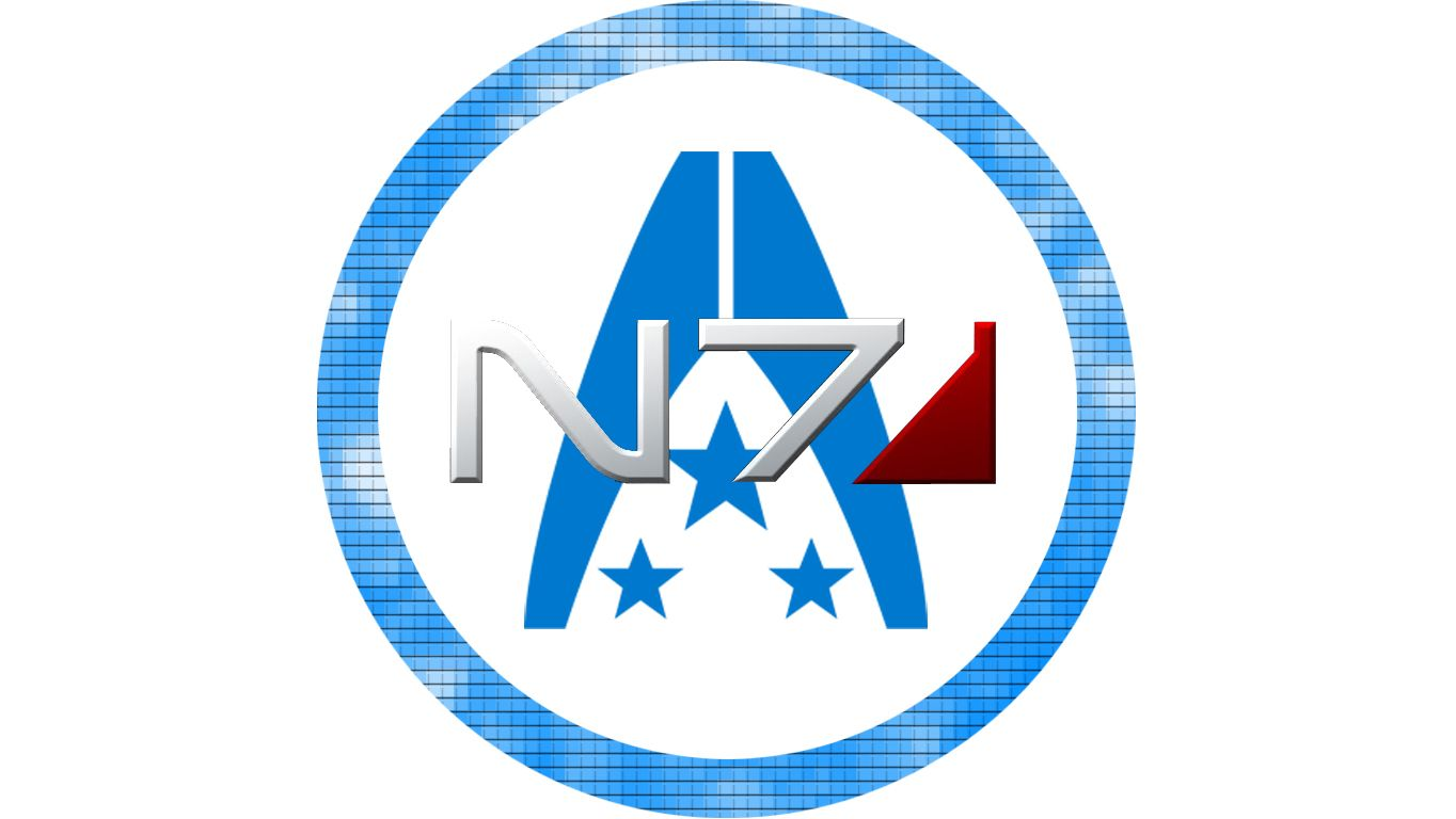 Mass Effect N7 Alliance custom logo by ~ManuelHD on.