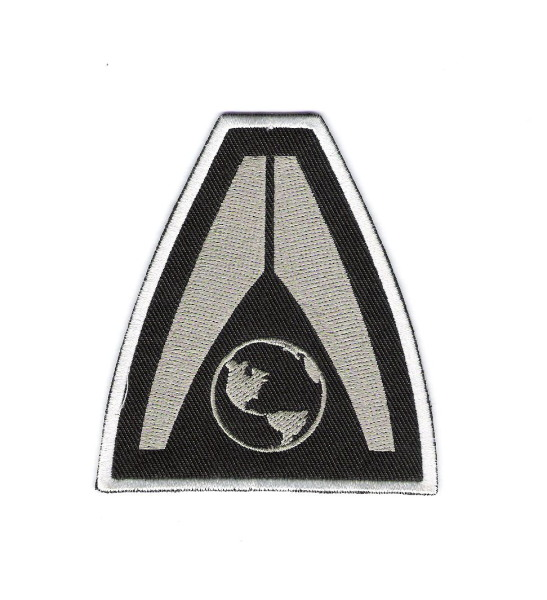 Mass Effect 3 Earth Systems Alliance Logo Embroidered 3\