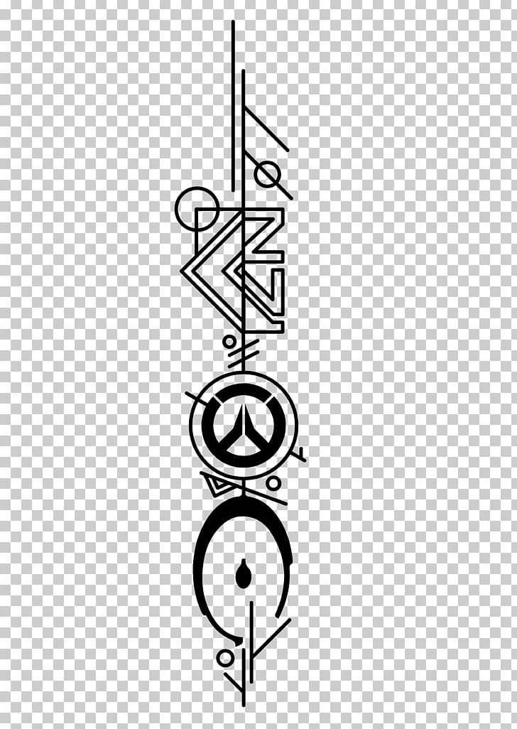Tattoo Mass Effect: Andromeda Overwatch Video Game PNG.