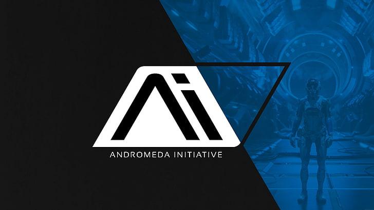 HD wallpaper: logo of Andromeda Initiative, Mass Effect.